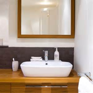 bathroom splashback ideas basin contemporary bathroom makeover housetohome co uk