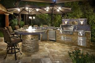 Backyard Grill Islands Las Vegas Nevada Custom Outdoor Kitchens Galaxy Outdoor