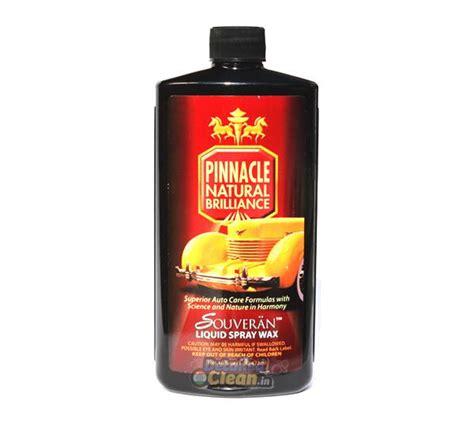 souveran liquid spray wax 16oz detailed clean india
