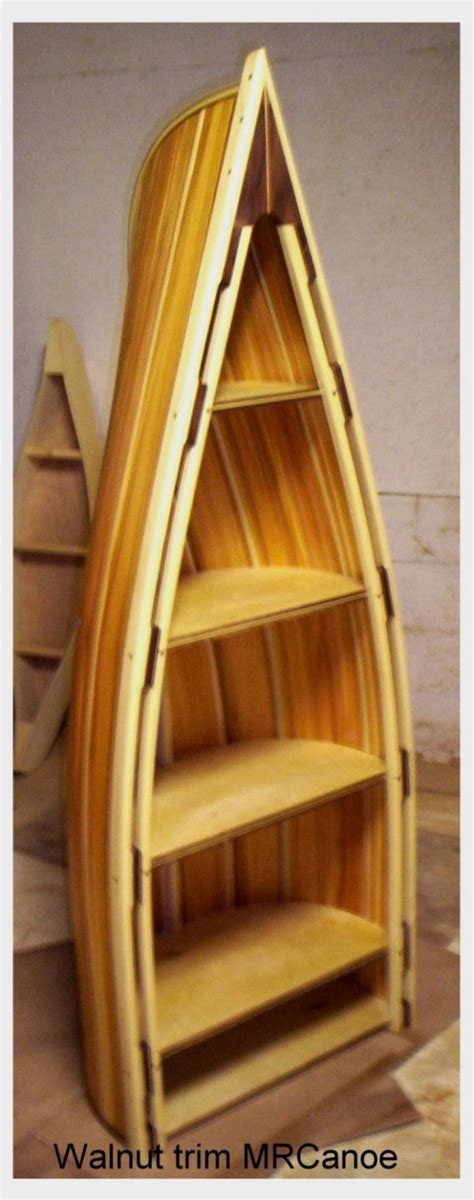 canoe bookcase for sale woodworking projects plans