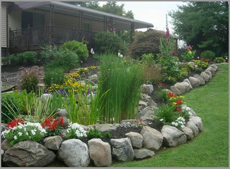 Rock Garden Borders Borders And Retaining Walls Premier Ponds Maryland S 1 Provider Landscaping Pinterest