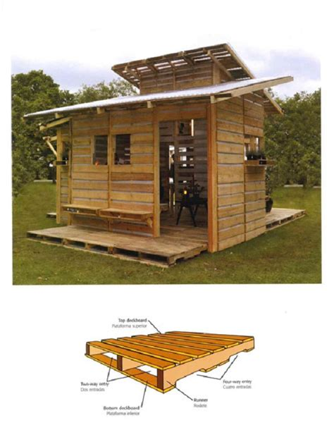 pallet house by i beam design looks cool but there s something that makes it awesome