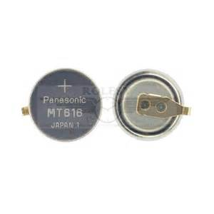 replace capacitor citizen eco drive panasonic mt616 capacitor rechargeable battery citizen ecodrive g820 g820m g870
