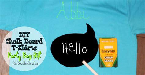 diy chalkboard t shirt chalkboard message t shirts diy paintsewgluechew