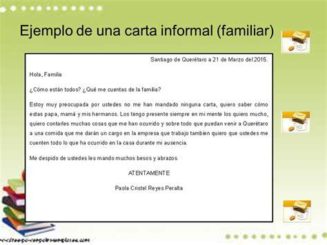 carta formal y una informal univerisdad autonoma de queretaro ppt descargar