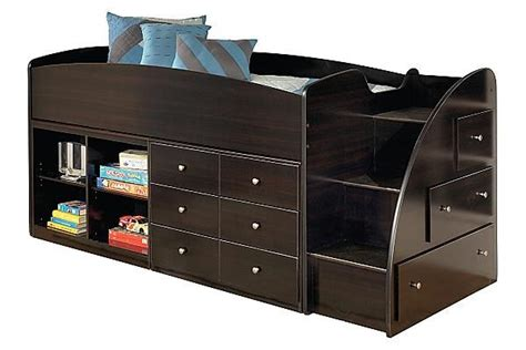 embrace loft bedroom set the embrace youth loft bed w storage from ashley