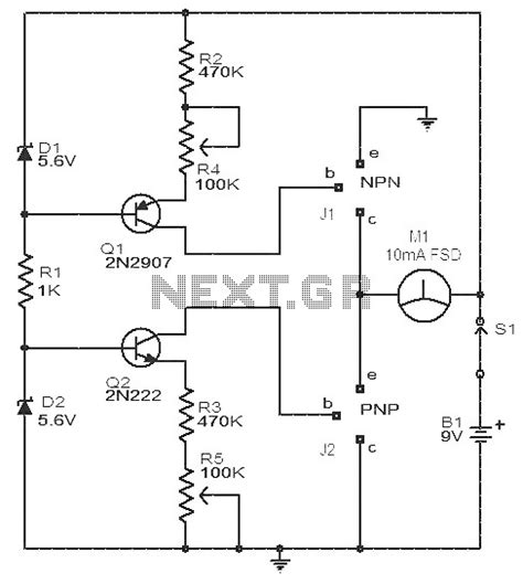 transistor npn hfe electronic circuits page 549 next gr