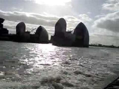 thames barrier video youtube thames rib experience the thames barrier experience
