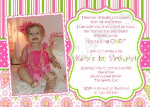 1st birthday invitation template 1st birthday invitations templates