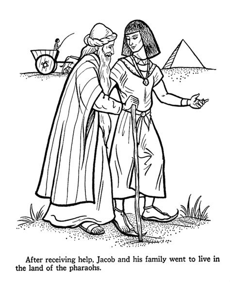 printable bible coloring pages joseph joseph in egypt coloring pages coloring home