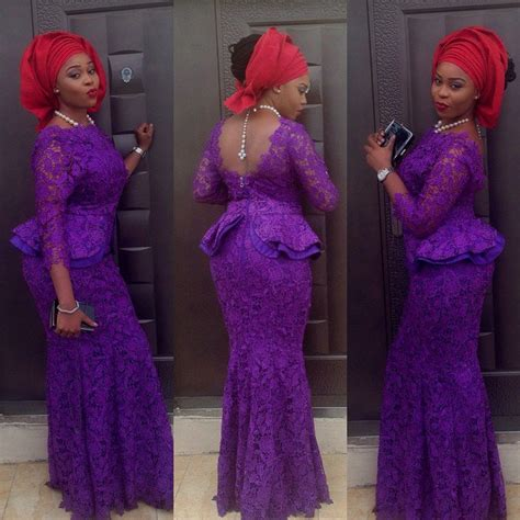 latest aso abi styles for plus size women creative aso ebi styles you can rock to nigerian wedding