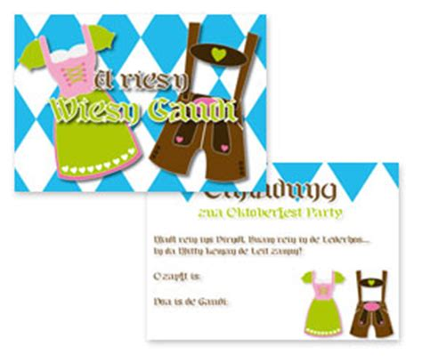 Kostenlose Vorlage Oktoberfest Kostenlose Einladungskarte F 252 R Bayrische Oktoberfest Ideen Mottoparty