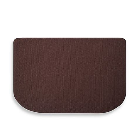 memory foam textra kitchen mats buy microdry 174 memory foam hd 22 inch x 32 inch textra kitchen mat in black from bed bath beyond