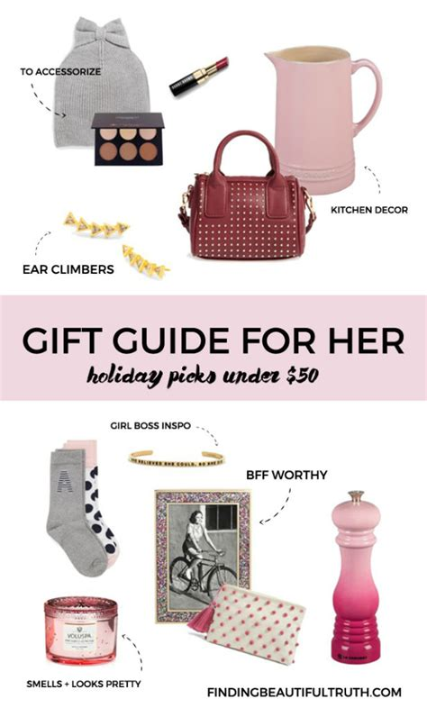 Holiday Gifts For Her Under 50 Finding Beautiful Truth | holiday gifts for her under 50 finding beautiful truth