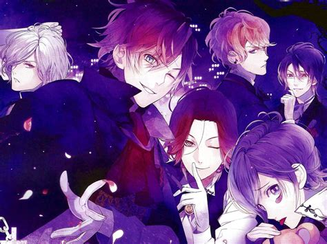 wallpaper anime diabolik lovers diabolik lovers hd desktop wallpaper widescreen high