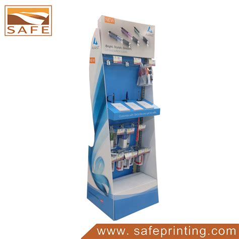Shelf Product by Color Printing Stationarey Product Shelf Hook Display