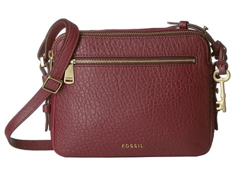 Fossil Piper Toaster Crossbody Multi Brown fossil piper toaster crossbody wine 6pm