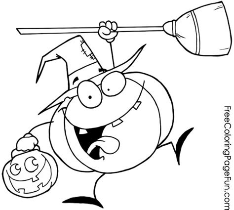 happy pumpkin coloring pages free halloween coloring pages happy pumpkin