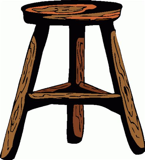 Of Stool by Stool Clipart Best