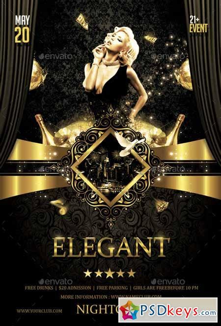 elegant party flyer 14402478 187 free download photoshop