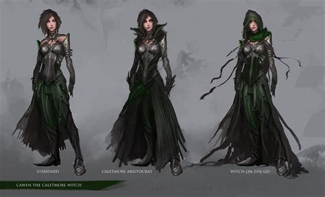 character design cawen the caletmore witch by thedurrrrian on deviantart