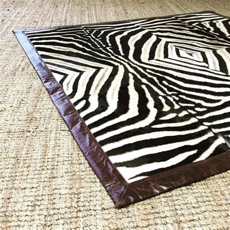 zebra hide rug for sale one of a zebra hide area rug for sale at 1stdibs