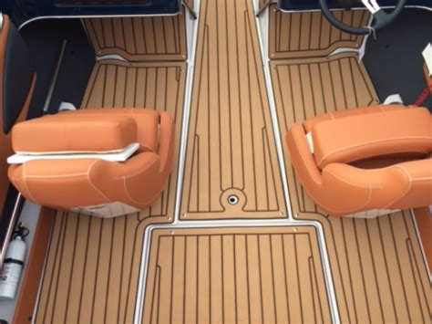 Custom Boat Mats by Marine Mat Detail