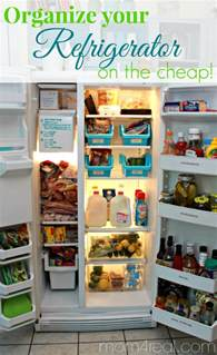 Organized Kitchen Drawers - organize your refrigerator on the cheap mom 4 real