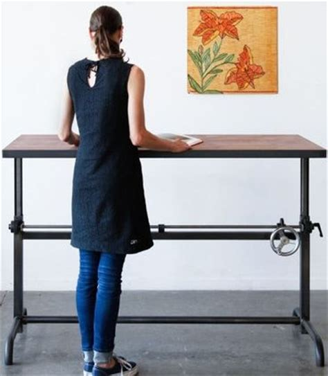 turn your desk into a stand up desk how to stylishly design a standing desk into your home