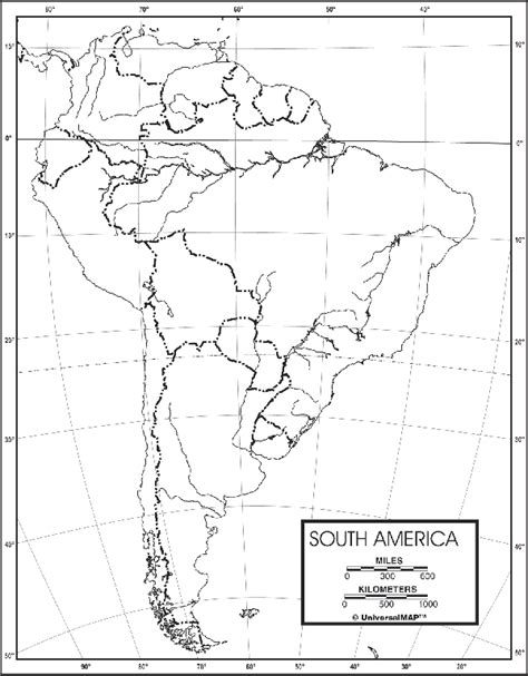 us physical map printable blank map of south america to label images