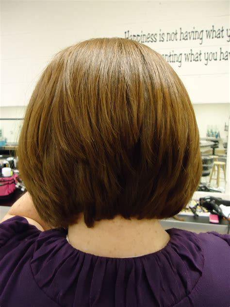 a line haircuts front and back views stacked bob hairstyles back view hairstyle gallery