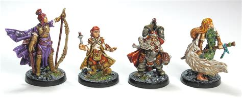 Painting Miniatures by Descent 2nd Edition Figure Painting Reference The