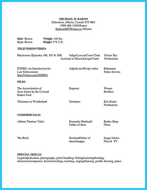 Resume Tips Microsoft 17 Best Ideas About Acting Resume Template On Acting Acting Tips And Acting Career