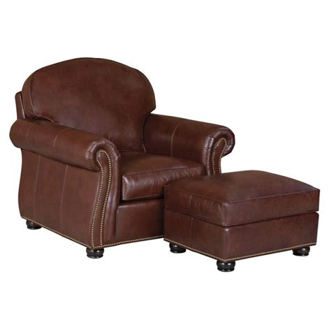 Classic Leather Chair And Ottoman Design Ideas Classic Leather 96 22 Wt 95 Wt Morrison Chair Ottoman Discount Furniture At Hickory Park