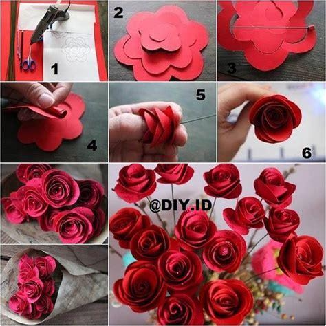 cara membuat bunga kertas diy diy membuat beberapa jenis bunga mawar dari kertas gt do it