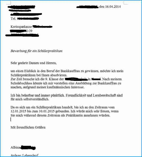 Praktikum Bewerbung Bei Der Bank 9 Bewerbung Praktikum Kindergarten Rechnungsvorlage