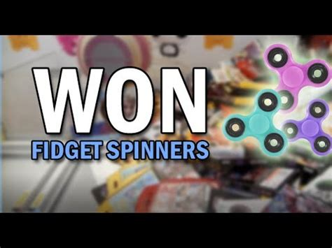 Jual Fidget Spinner Fidget Spinner 4 Sisi Claw Capit Premium won so many fidget spinners at the claw machine