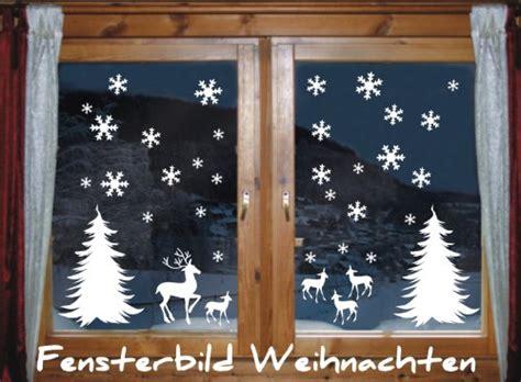 Fenster Aufkleber Tannenbaum by Wandtattoo Weihnachten Schneeflocke