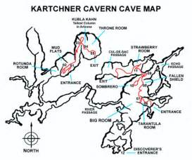 caves map kartchner caverns my favorite westerns