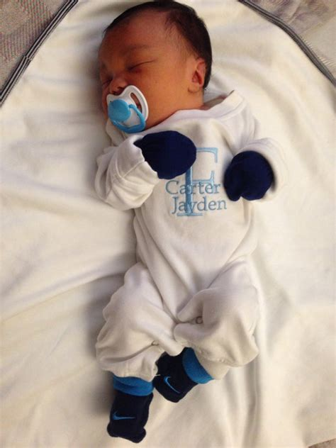 baby boy coming home personalized by babyspeakboutique