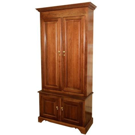 used gun cabinets for sale amish woodworking 50512 elite 6 gun cabinet solid cherry