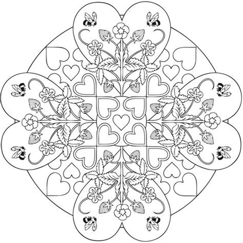 mandala coloring pages valentines valentines day coloring pages news bubblews