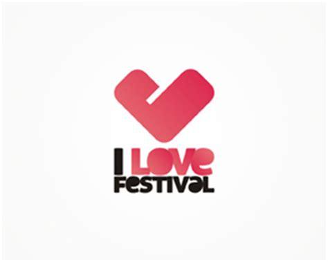 design love fest logo i love festival identity promo materials nocturn