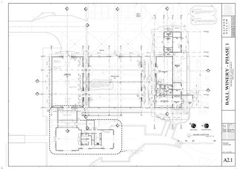 winery floor plans ball winery ana de andrade archinect