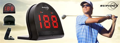 measure swing speed supido speed radar measure golf swing ball speeds