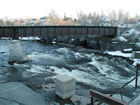 Black River Watertown Ny By David Shields Black Pearl Watertown Ny