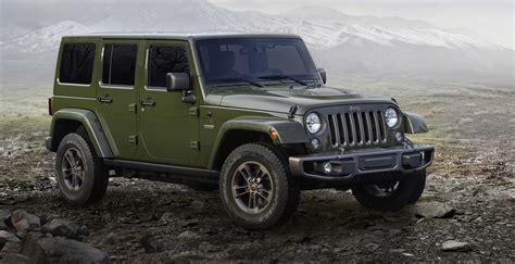 Jeep Cars Australia Jeep 75th Anniversary Models Revealed Australian Launch
