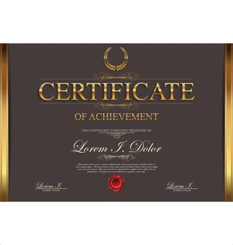 cool certificate templates 206 best certificate design images on