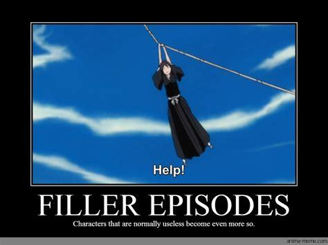 anime filler filler episodes anime meme com
