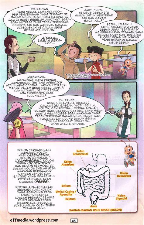 komik ipa sd sistem pencernaan eff media